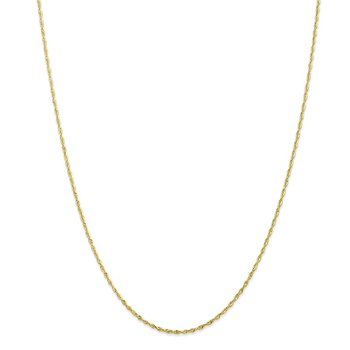 Leslie's 10K 1.5mm Diamond Cut Lightweight Rope Chain