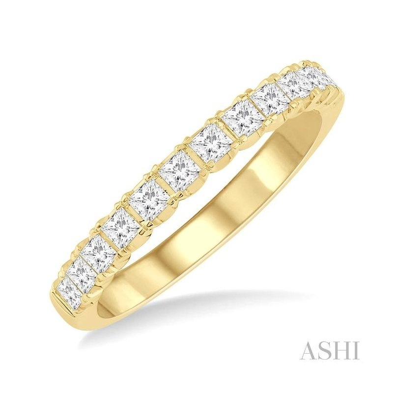 ASHI endless embrace diamond wedding band