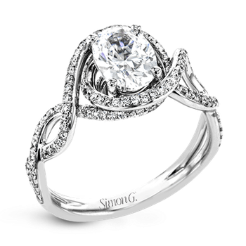 LP2304-OV ENGAGEMENT RING