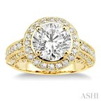 Crocker's Collection semi-mount diamond engagement ring