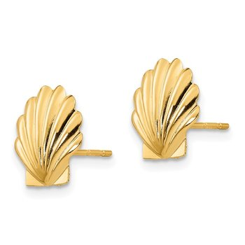 14k Madi K Shell Post Earrings