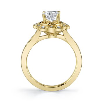 MARS 27092 Engagement Ring, 0.22 Ctw.