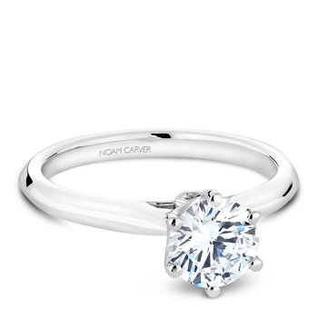 Noam Carver Modern Engagement Ring B143-17A