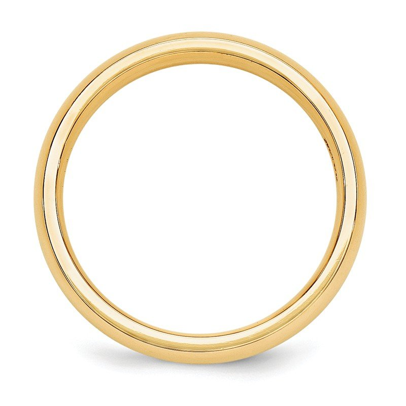 Quality Gold 10KY 5mm Standard Comfort Fit Band Size 10