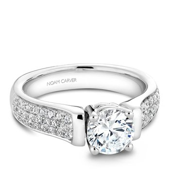 Noam Carver Vintage Engagement Ring B042-02A