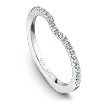 Noam Carver Wedding Band B015-02B