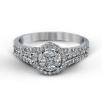Zeghani ZR967 ENGAGEMENT RING