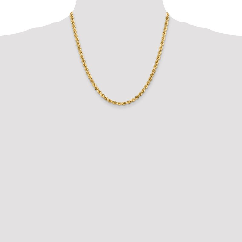 Quality Gold 14k 5mm Regular Rope Chain