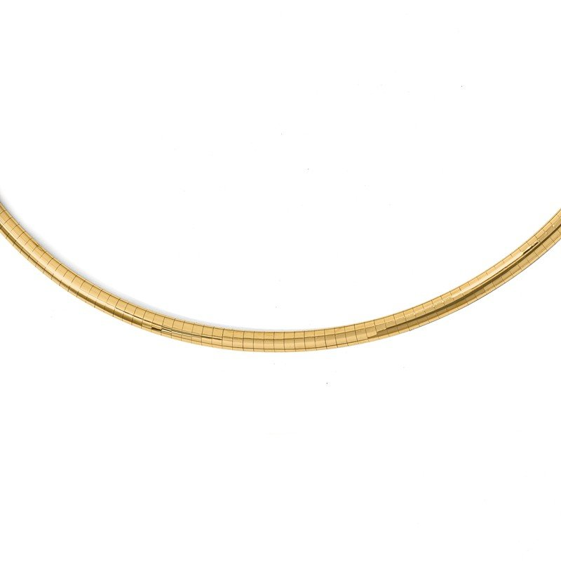 Leslie's Leslie's 14K 4mm Lightweight Omega Necklace