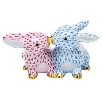 Kissing Bunnies - Multicolor