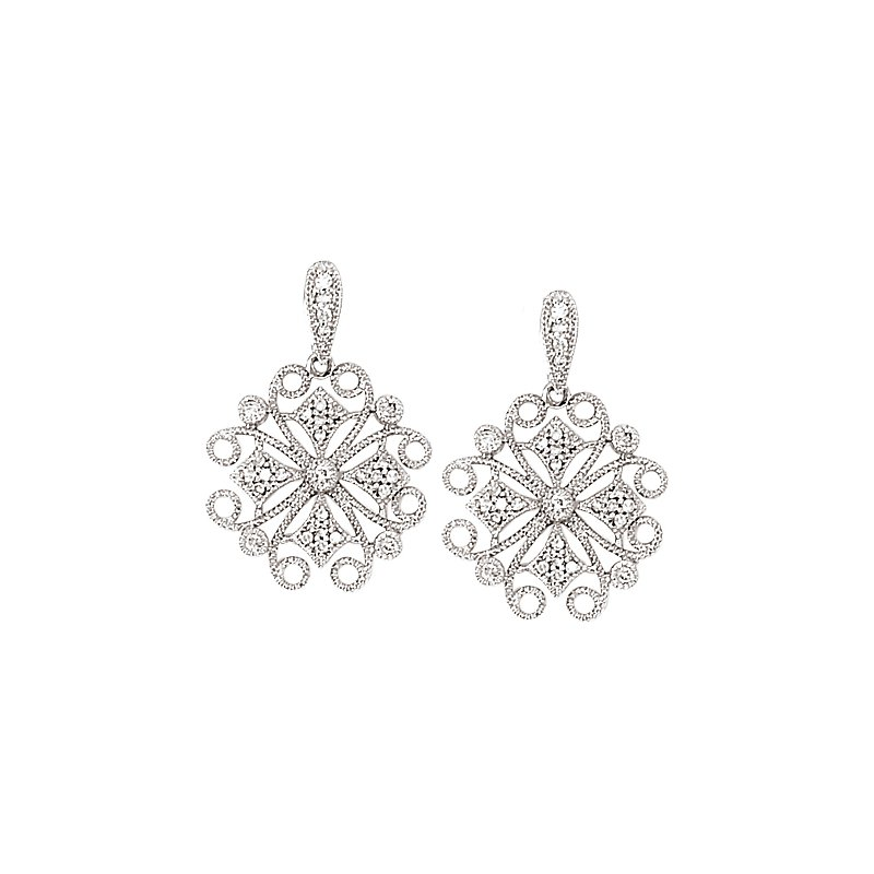 Tesoro Diamond Fashion Earrings