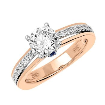 Bridal Ring-RE12654RW10R