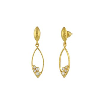 Pointelle Drop Earrings
