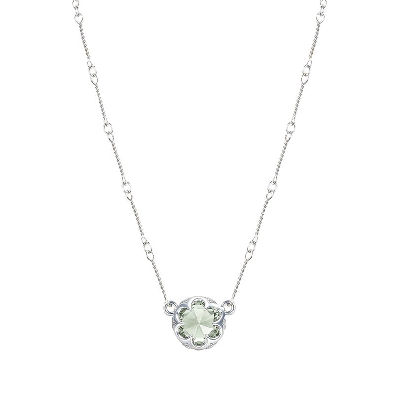 Tacori Fashion Station Link Necklace featuring Prasiolite