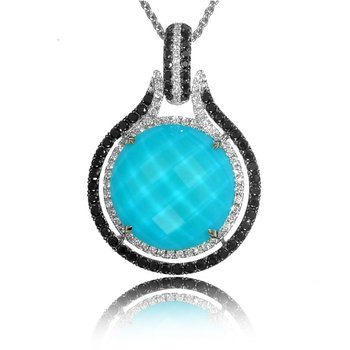 St. Barths Blue Turquoise Necklace