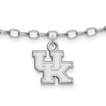 Sterling Silver University of Kentucky NCAA Bracelet