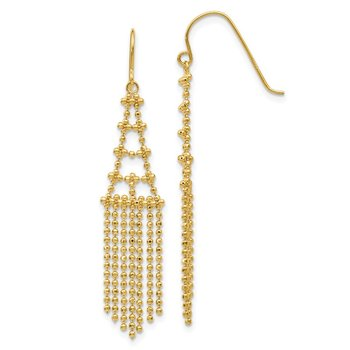 14K Beaded Earrings