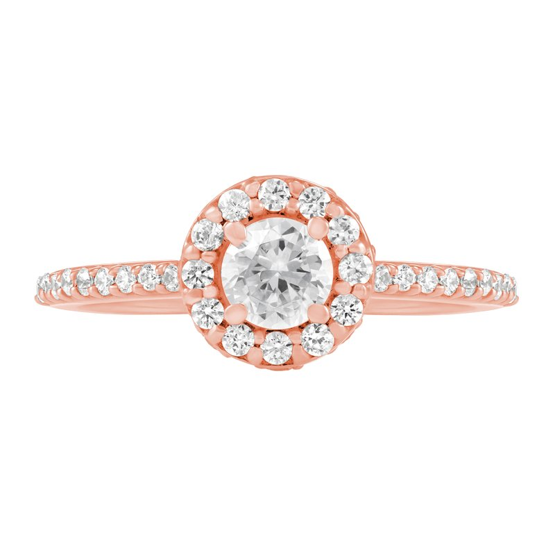 Veer Diamonds LANTANA HALO RING