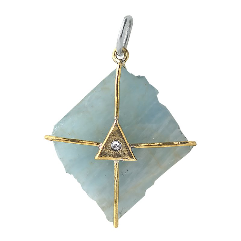 Waxing Poetic Touchstones - Discovery Aquamarine Talisman
