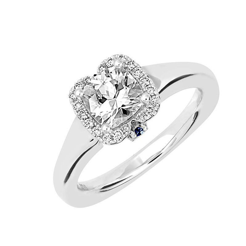 Chatham Bridal Ring-RE12670W10AC