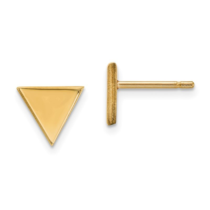 Lester Martin Online Collection 14k Triangle Post Earring