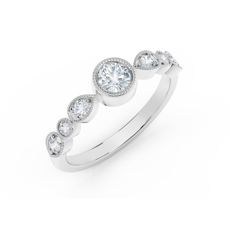 Forevermark The Forevermark Tribute™ Collection Delicate Stackable Diamond Ring