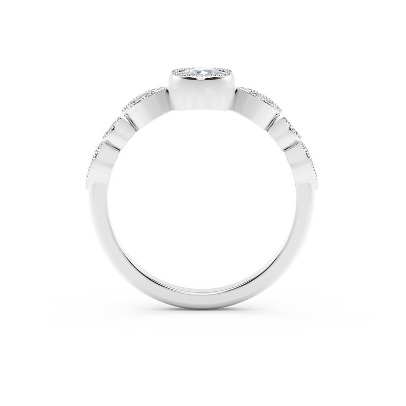 Forevermark Black Label The Forevermark Tribute™ Collection Delicate Stackable Diamond Ring