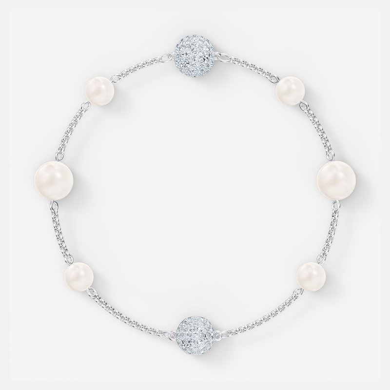 Swarovski Swarovski Remix  Collection Pearl Strand, White, Rhodium plated
