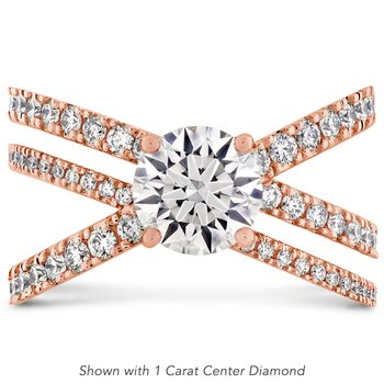 0.53 ctw. Harley Wrap Engagement Ring