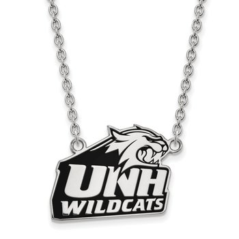Sterling Silver University of New Hampshire NCAA Necklace