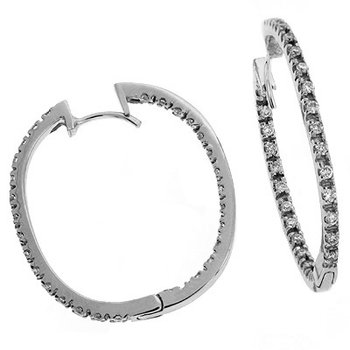 Hoop Earring 31mm X 25mm