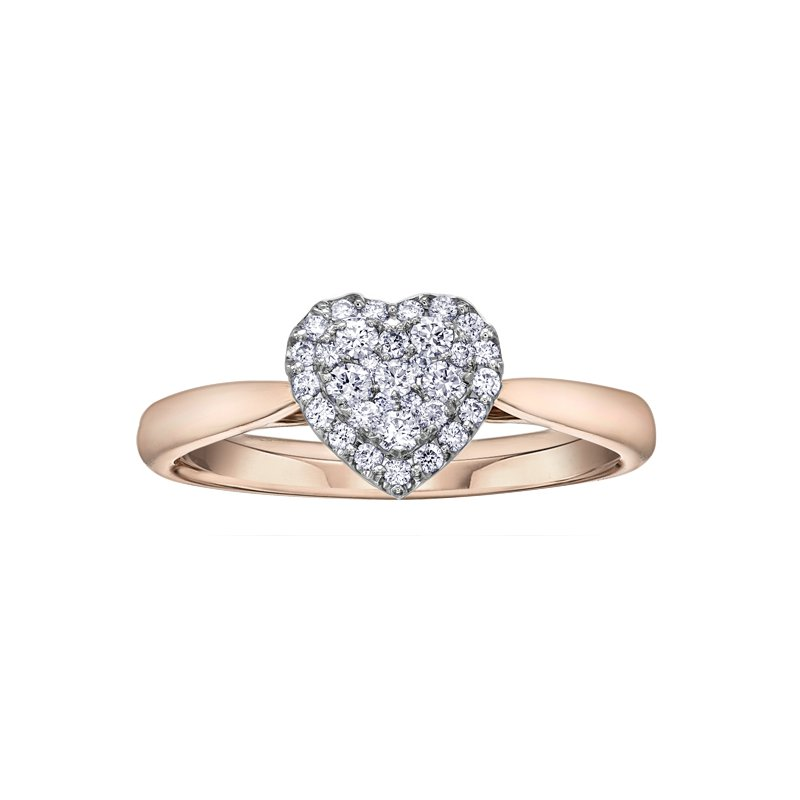 Lasting Treasures™ Diamond Ladies Engagement Ring