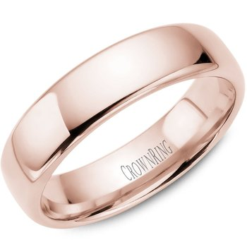 CrownRing Men's Wedding Band TDS14R6