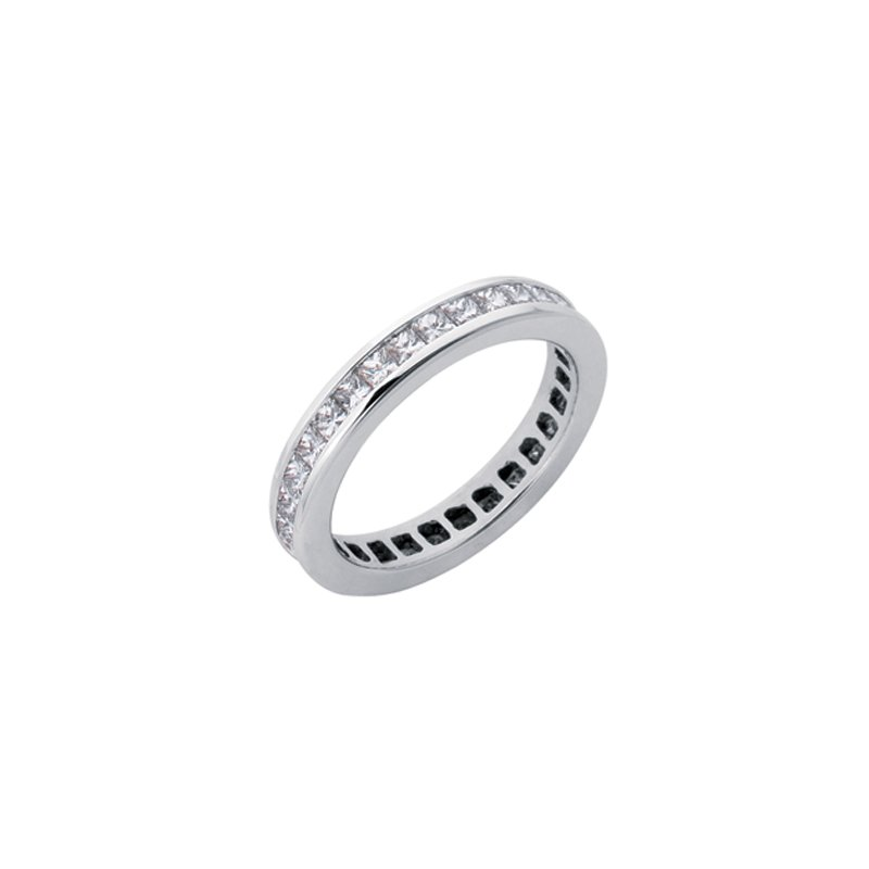 S. Kashi & Sons Bridal Eternity Diamond White Gold