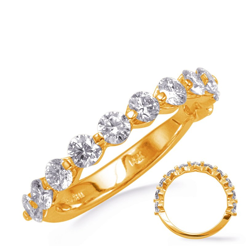 S. Kashi & Sons Bridal Yellow Gold Weding Band