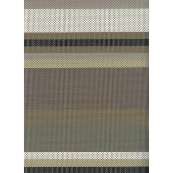 Table mat, brown lines