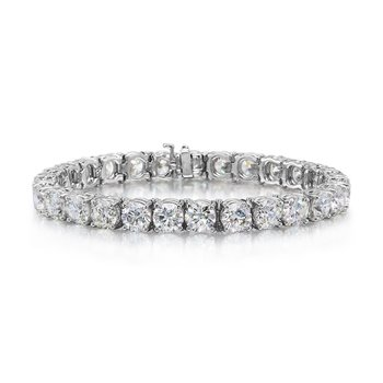 10.01 tcw. Diamond Tennis Bracelet