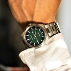 Norqain Independence 20 - Green Dial Stainless Bracelet Watch