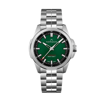 Independence 20 - Green Dial Stainless Bracelet Watch