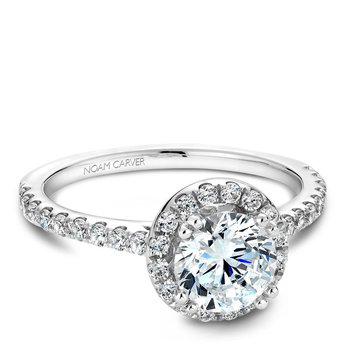 Noam Carver modern Engagement Ring B007-01A