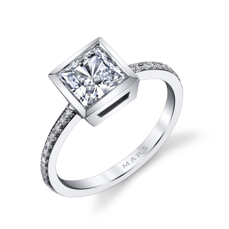 MARS Jewelry - Engagement Ring 26707D