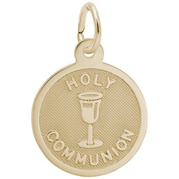 Holy Communion Disc Charm