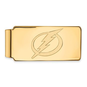 Gold Tampa Bay Lightning NHL Money Clip