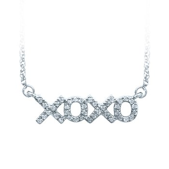 14K 0.10Ct Diam Necklace