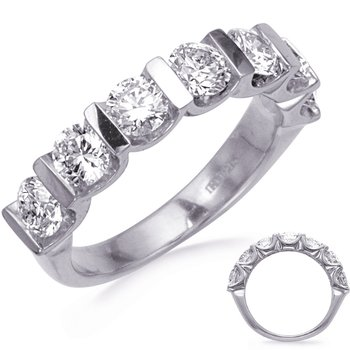 Bar Set Seven Stone Diamond Band