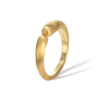 Lucia Yellow Gold Modern Cuff