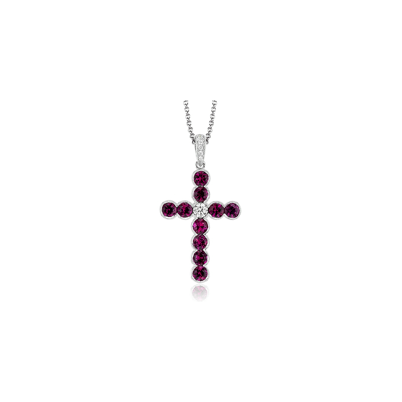 Simon G NP204-A CROSS PENDANT