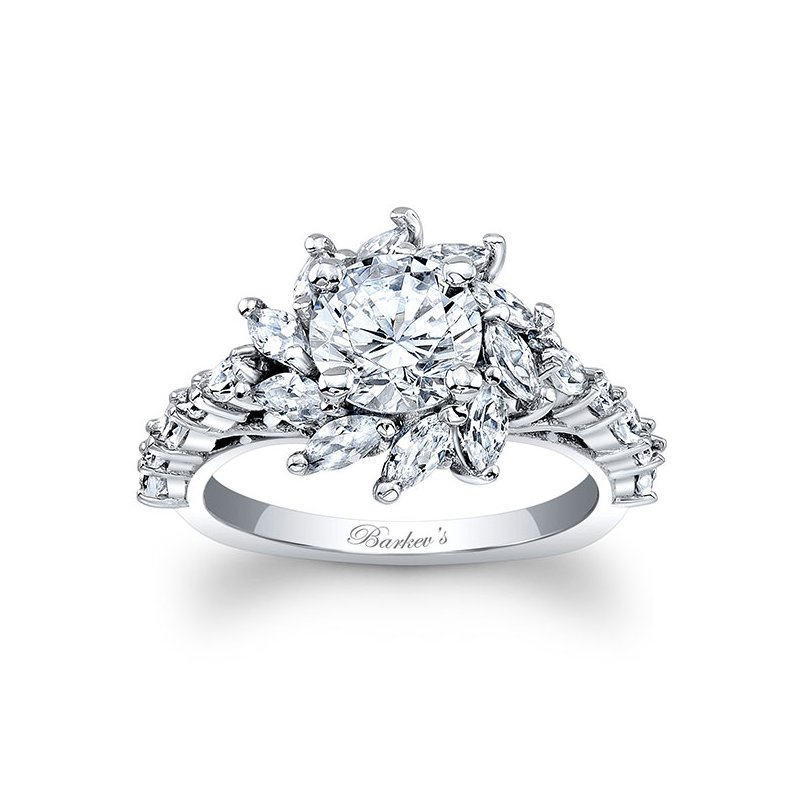 Barkev's Marquise Engagement Ring