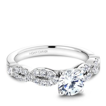 Noam Carver Vintage Engagement Ring B046-01A