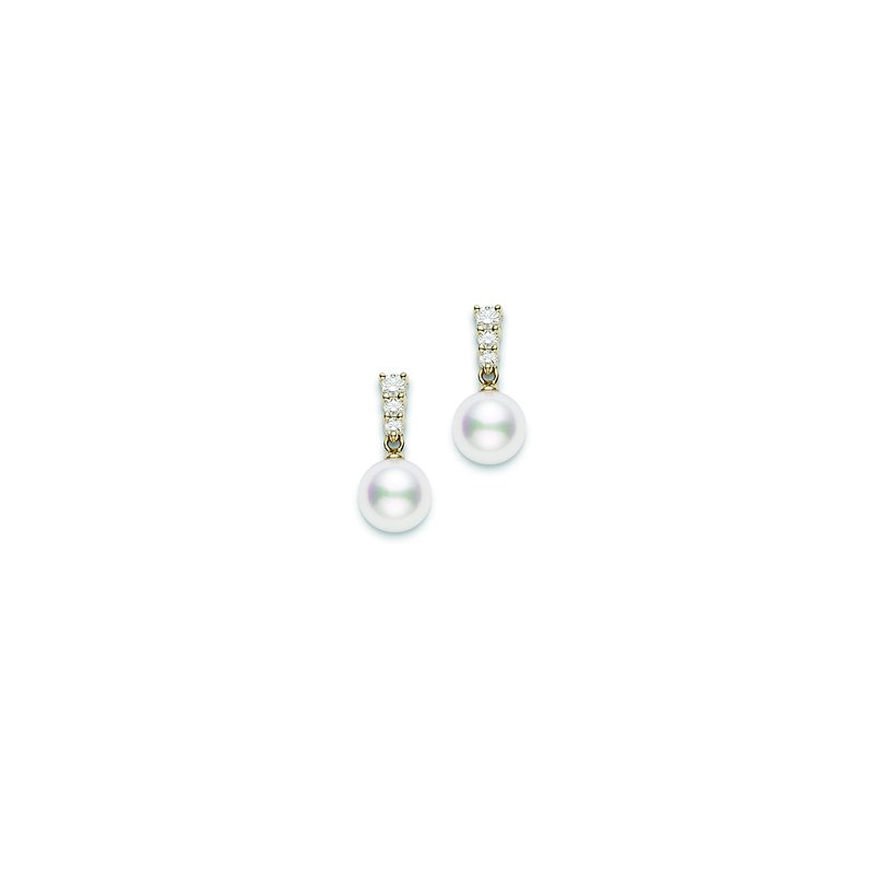 Mikimoto Morning Dew Akoya Cultured Pearl Earrings